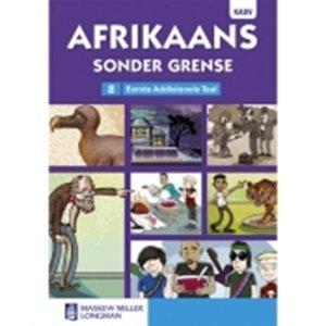 Picture of Afrikaans Sonder Grense Afrikaans Eerste Addisionele Taal Graad 8 Leesboek (NKABV) (Pearson 2019-2020)