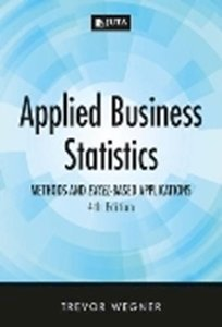 Picture of Applied Business Statistics 4e