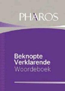 Picture of Beknopte Verklarende Woordeboek  (Pharos/NB 2019-2020)