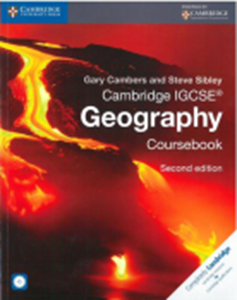 Picture of Cambridge IGCSE Geography Coursebook with CD-ROM