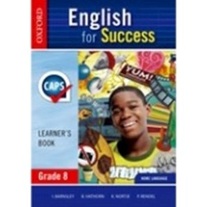 Picture of English for Success Home Language Grade 8 Learner's Book (Oxford SA)