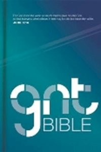 Picture of English Good News Translation (GNT) complete Bible, standard size, full-colour hardcover