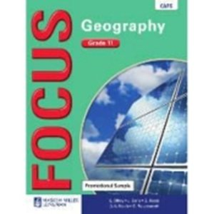 Picture of Focus Geography Grade 11 Learner's Book (CAPS) (Pearson 2019-2020)