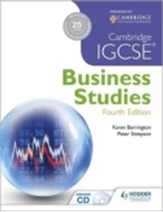 Picture of Igcse Business Studies Student's Book (With Cd) (4th Edition)