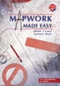 Picture of Mapwork Made Easy Senior Phase LB (Pearson 2019-2020)