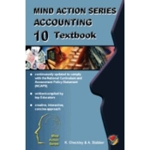 Picture of Mind Action Series Accounting Workbook - punched format NCAPS Grade 10