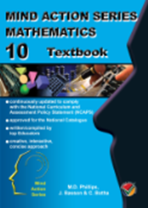 Picture of Mind Action Series Mathematics Textbook NCAPS (DBE Approved) Grade 12 (AllCopy 2019-2020)