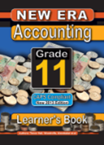 Picture of New Era Accounting Grade 11 Learner Book