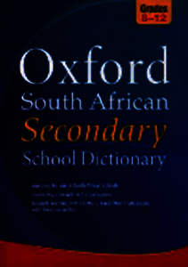 Picture of Oxford South African Secondary School Dictionary  (For ages 13+)