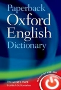 Picture of Paperback Oxford English Dictionary 7e  (For ages 16+)