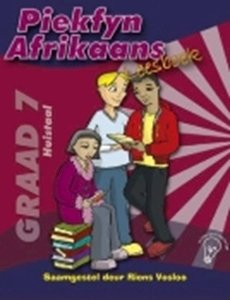 Picture of Piekfyn Afrikaans Huistaal Leesboek Graad 7 Downloadable answers on website: www.nb.co.za/assets/downloads/teachers_guides/Graad%207%20HT%20leesboek%20memo.pdf (Best Books/NB 2019-2020)