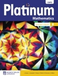 Picture of Platinum Mathematics Grade 8 Learner's Book (CAPS)