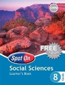 Picture of Spot On Social Sciences Grade 8 Learner's Book (CAPS) (Pearson 2019-2020)