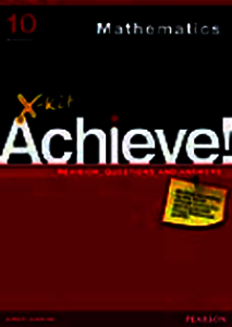Picture of X-Kit Achieve! Grade 10 Mathematics (Pearson Education 2019-2020)