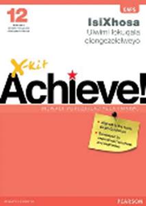 Picture of X-Kit Achieve! G12 Incwadi yokuzihlaziyela iimviwo FAL Xhosa Exam Practice (Pearson Education 2019-2020)