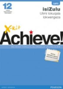 Picture of X-Kit Achieve! G12 Incwadi Yokuzilolongela Ukuhlolwa FAL Zulu Exam Practice (Pearson Education 2019-2020)