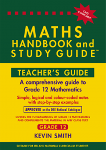 Picture of Maths Handbook and Study Guide Grade 12 Teacher's Guide (Bermaths Books 2019-2020)