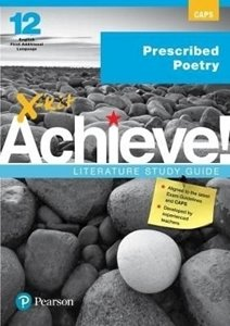 Picture of X-Kit Achieve English FAL Grade 12 Prescribed Poetry (Pearson Education 2019-2020)