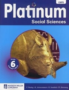 Picture of Platinum Social Sciences Grade 6 Learner's Book (CAPS) (Pearson 2019-2020)
