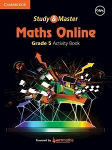Picture of Study & Master Maths Online Grade 5 Activity Book (Cambridge University Press 2019-2020)