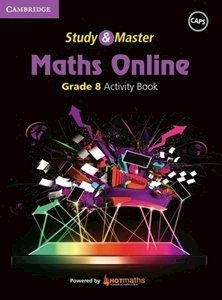 Picture of Study & Master Maths Online Grade 8 Activity Book  (Cambridge University Press 2019-2020)