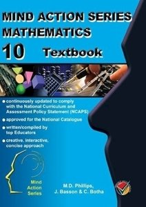 Picture of Mind Action Series Mathematics Textbook & Workbook NCAPS Grade 10 (AllCopy 2019-2020)