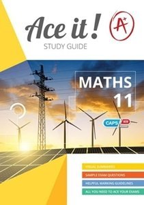 Picture of Ace it! Mathematics Grade 11 Study Guide (Shuter & Shooter 2019-2020)