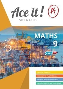 Picture of Ace It! Mathematics Grade 9 Study Guide (Shuter and Shooter 2019-2020)