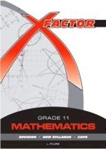 Picture of X-Factor Mathematics Grade 11 Study Guide, by Fourie (Future Managers 2019-2020)