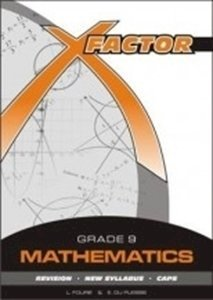 Picture of X-Factor Mathematics Grade 9 Study Guide, by Fourie; Du Plessis (Future Managers 2019-2020)