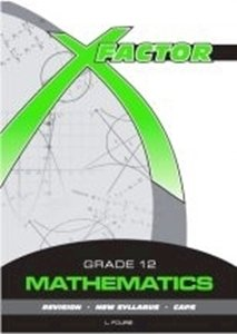 Picture of X-Factor Mathematics Grade 12 Study Guide, by Fourie (Future Managers 2019-2020)