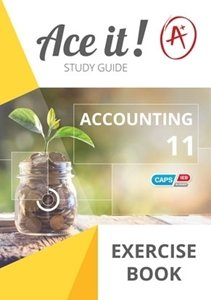 Picture of Ace It! Accounting Grade 11 Exercise Book (Shuter & Shooter 2019-2020)