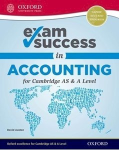 Picture of Accounting for Cambridge International AS and A Level Exam Success Guide (OUP International 2019-2020)