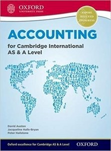 Picture of Accounting for Cambridge International AS and A Level Student Book (OUP International 2019-2020)