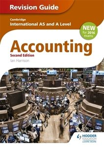 Picture of AS and A Level Accounting Revision Guide (2nd Edition) (Suitable for AS/A Levels)