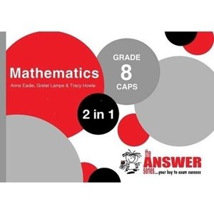 Picture of The Answer Series Grade 8 Mathematics 2-in-1 (The Answer Series 2019-2020)