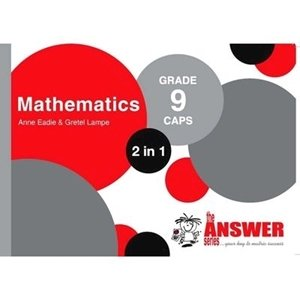 Picture of The Answer Series Grade 9 Mathematics 2-in-1 (The Answer Series 2019-2020)