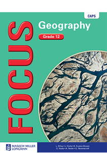 Picture of Focus Geography Grade 12 Learner's Book (CAPS) (Pearson 2019-2020)