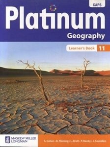 Picture of Platinum Geography Grade 11 Learner's Book (CAPS) (Pearson 2019-2020)