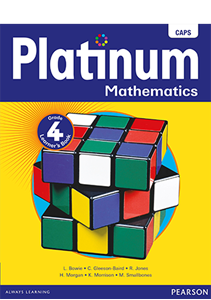 Picture of Platinum Mathematics Grade 4 Learner's Book (CAPS) (Pearson 2019-2020)