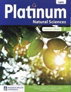 Picture of Platinum Natural Sciences Grade 7 Learner's Book (CAPS) (Pearson 2019-2020)