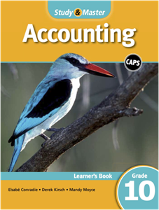Picture of Study & Master Accounting Learner's Book Grade 10 (Cambridge University Press)