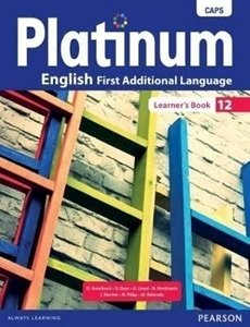 Picture of Platinum English First Additional Language Grade 12 Learner's Book (CAPS) (Pearson 2019-2020)