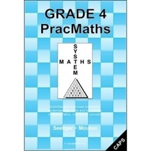 Picture of PracMaths Grade 4 CAPS (Memo included) (JNM Publishers)