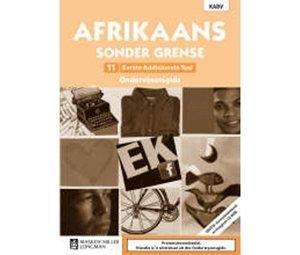 Picture of Afrikaans Sonder Grense Eerste Addisionele Taal Graad 11 Onderwysersgids (NKABV) (Pearson 2019-2020)