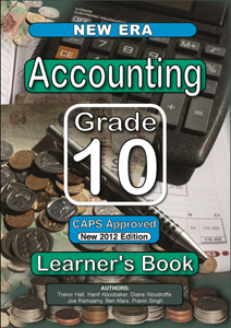 Picture of New Era Accounting Grade 10 Learners Book (New Generation Publishers 2019-2020)