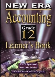Picture of New Era Accounting Grade 12 Learner Book (New Generation Publishers 2019-2020)