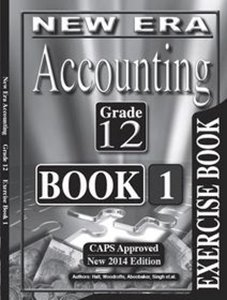 Picture of New Era Accounting Grade 12 Exercise Book (New Generation Publishers 2019-2020)