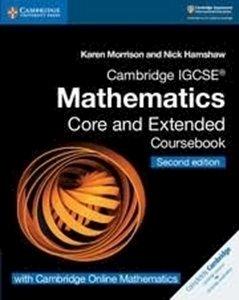 Picture of Cambridge IGCSE Mathematics Coursebook Core and Extended with Cambridge Online Mathematics (2 years) (Cambridge University Press 2020-2021)