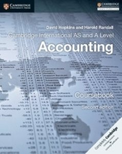 Picture of Cambridge International AS & A Level Accounting Second edition Coursebook  (Cambridge University Press)